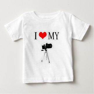 I LOVE MY CAMERA BABY T-Shirt