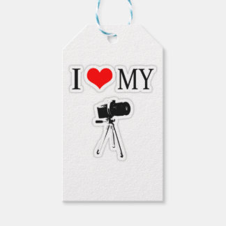 I LOVE MY CAMERA GIFT TAGS