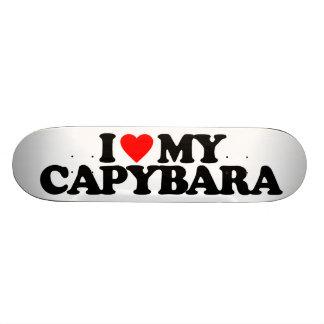 I LOVE MY CAPYBARA SKATE BOARDS