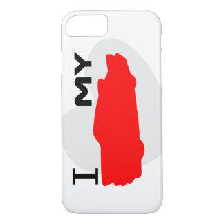 I LOVE MY CAR iPhone 8/7 CASE