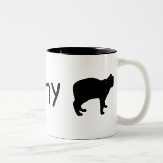 I Love my Cat Mug TAILLESS