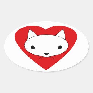 I love my cat stickers