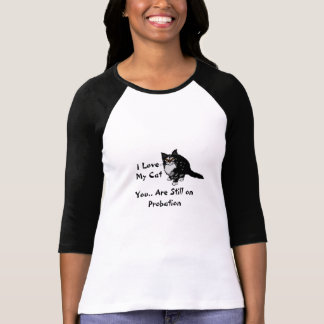 I love my cat t shirt III