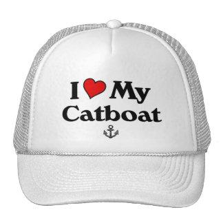 I love my Catboat Trucker Hat