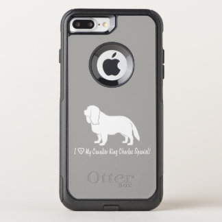 I Love My Cavalier King Charles Spaniel! OtterBox Commuter iPhone 8 Plus/7 Plus Case