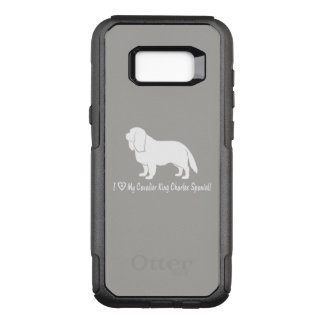 I Love My Cavalier King Charles Spaniel! OtterBox Commuter Samsung Galaxy S8+ Case