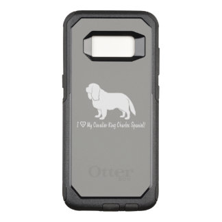 I Love My Cavalier King Charles Spaniel! OtterBox Commuter Samsung Galaxy S8 Case