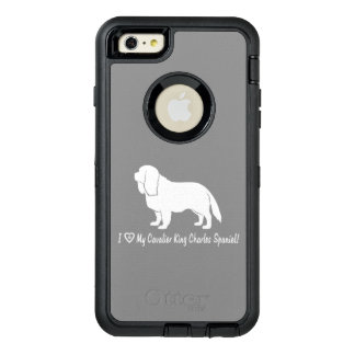 I Love My Cavalier King Charles Spaniel! OtterBox Defender iPhone Case