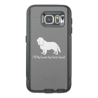 I Love My Cavalier King Charles Spaniel! OtterBox Samsung Galaxy S6 Case