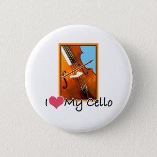 I Love My Cello 2 Inch Round Button