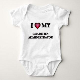 I love my Charities Administrator Baby Bodysuit