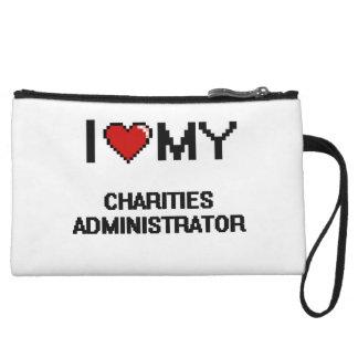 I love my Charities Administrator Wristlet Purses