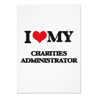 I love my Charities Administrator Invite