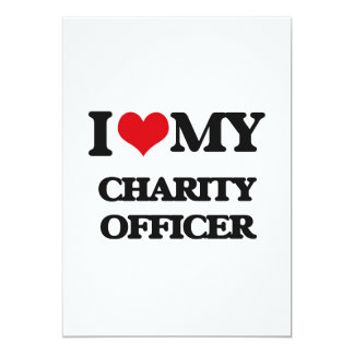 I love my Charity Officer Custom Announcements
