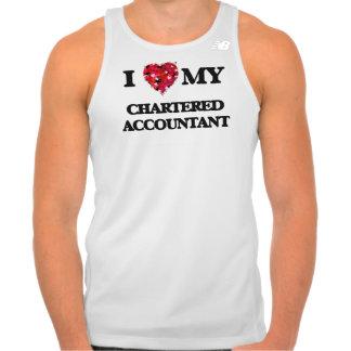 I love my Chartered Accountant Tank Top