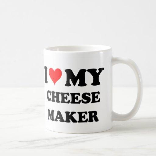 I Love My Cheese Maker Mug