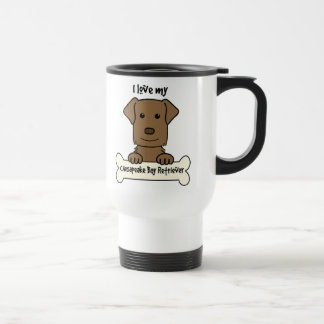 I Love My Chesapeake Bay Retriever Travel Mug