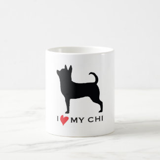 I LOVE MY CHI COFFEE MUG