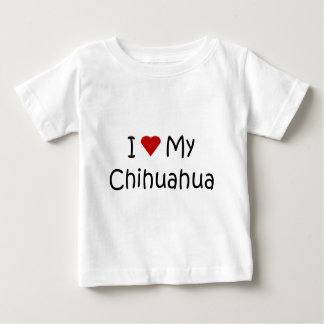 I Love My Chihuahua Dog Breed Lover Gifts Shirt