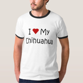 I Love My Chihuahua Dog Breed Lover Gifts Tee Shirt