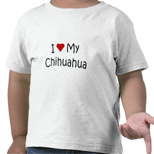 I Love My Chihuahua Dog Breed Lover Gifts Tshirts
