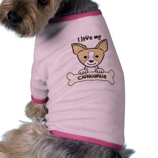 I Love My Chihuahua Dog Clothes