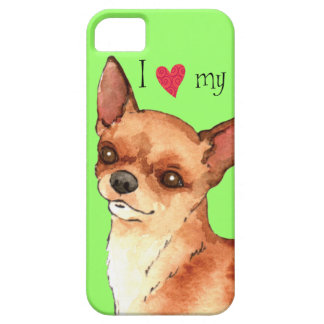 I Love my Chihuahua iPhone 5 Cover