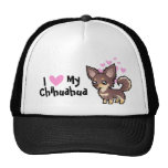 I Love My Chihuahua (long coat) Trucker Hat