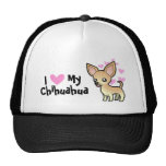 I Love My Chihuahua (smooth coat) Trucker Hat