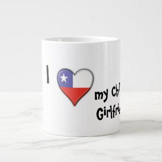 I love my Chilean Girlfriend Large Coffee Mug