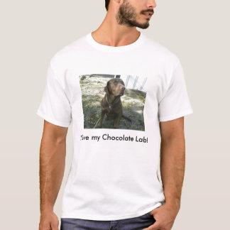 I love my Chocolate Lab! T-Shirt