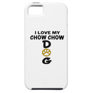 I Love My Chow Chow Dog Designs iPhone 5 Covers