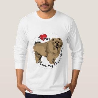 I Love My Chow Chow Dog T-Shirt