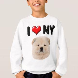 I Love My Chow Chow Sweatshirt