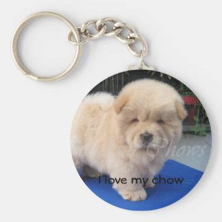 I love my chow keychain
