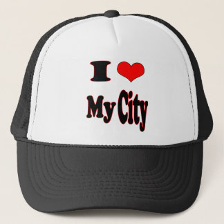 I Love My City-Hat (1) Trucker Hat