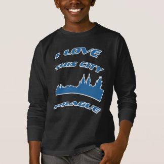 I Love My city - Prague T-shirt. T-Shirt