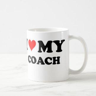 I Love My Coach Coffee Mug