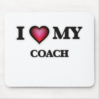 I love my Coach Mouse Pad
