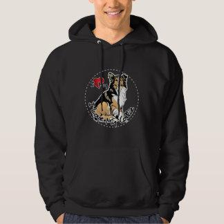 I Love My Collie Dog Hoodie
