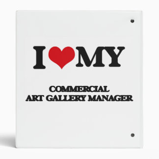 I love my Commercial Art Gallery Manager 3 Ring Binders