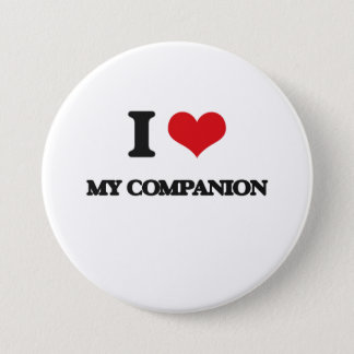 I love My Companion 3 Inch Round Button