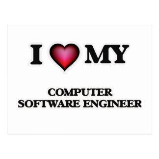 I love my Computer Software Engineer Postcard