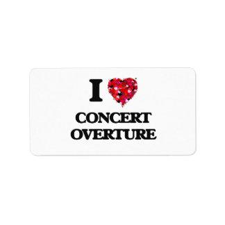 I Love My CONCERT OVERTURE