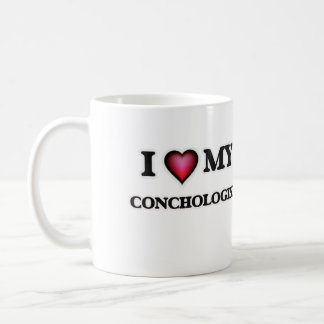I love my Conchologist Coffee Mug