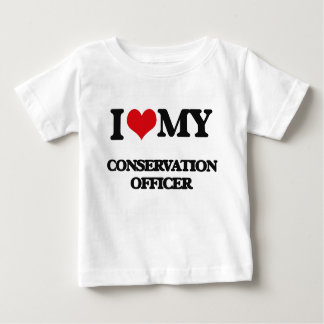 I love my Conservation Officer T Shirts