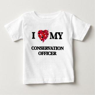 I love my Conservation Officer Tshirt