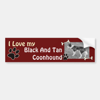 I love my Coonhound Bumper Sticker