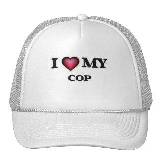 I love my Cop Trucker Hat