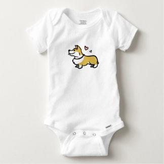 I Love My Corgi- Baby Baby Onesie